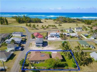 Kahuku Single Family Home In Escrow Showing: 56-419 Kamehameha Highway #NC-374