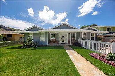 Honolulu County Single Family Home For Sale: 5219 Waihou Street