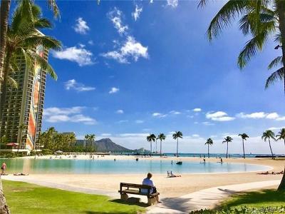 Honolulu County Condo/Townhouse For Sale: 1777 Ala Moana Boulevard #934