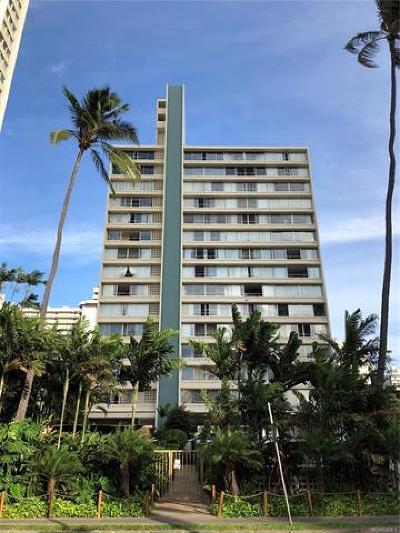 Honolulu HI Condo/Townhouse For Sale: $390,000