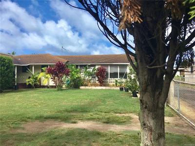 Kailua Single Family Home For Sale: 320 Oneawa Street