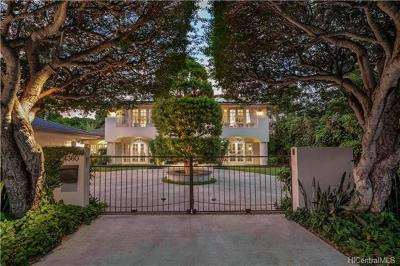 Honolulu Single Family Home For Sale: 4360 Kahala Avenue