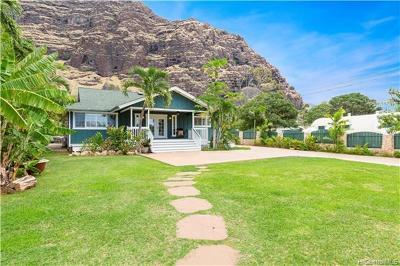 Waianae HI Single Family Home For Sale: $899,000