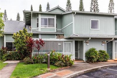 Mililani Condo/Townhouse For Sale: 95-1044 Ainamakua Drive #C