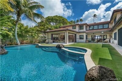 Honolulu Single Family Home For Sale: 4462 Kahala Avenue