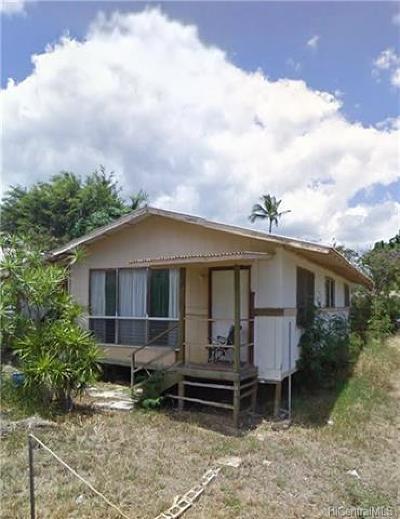 Waianae Single Family Home For Sale: 85-709 Piliuka Place #B