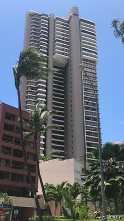 Honolulu County Condo/Townhouse For Sale: 1910 Ala Moana Boulevard #7C