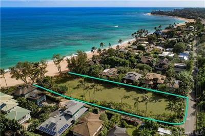 Haleiwa Residential Lots & Land For Sale: 59-205 Ke Nui Road