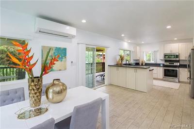 Kaneohe Single Family Home For Sale: 46-260 Nahewai Street