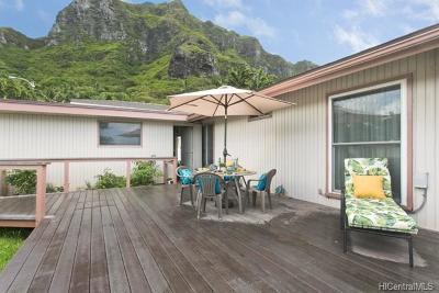 Kaaawa Single Family Home For Sale: 51-001 Lau Place