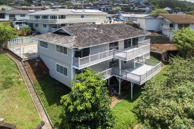 Aiea Single Family Home For Sale: 98-2021 Pahiolo Street