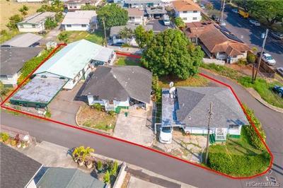 Multi Family Home For Sale: 1747-D Lanakila Avenue