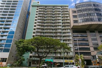 Condo/Townhouse For Sale: 1617 Kapiolani Boulevard #301