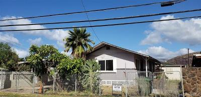Waianae Single Family Home In Escrow Showing: 87-140 Saint Johns Road