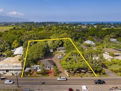 Haleiwa Residential Lots & Land For Sale: 66-239 Kamehameha Highway