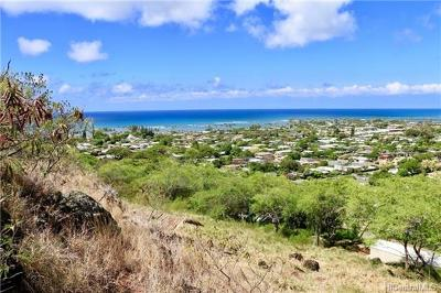 Honolulu County Residential Lots & Land For Sale: 184 Puuikena Drive