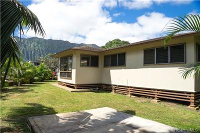 Waimanalo Single Family Home For Sale: 41-1615 Humuniki Place