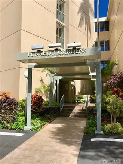 Honolulu County Condo/Townhouse For Sale: 1550 Wilder Avenue #A510
