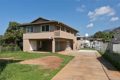 Waianae Single Family Home For Sale: 85-138 Plantation Road