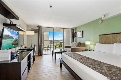 Honolulu Condo/Townhouse For Sale: 445 Seaside Avenue #2804