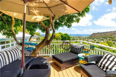 Honolulu County Single Family Home In Escrow Showing: 866 Leighton Street