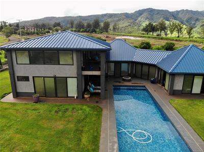 Waialua Single Family Home For Sale: 65-277 Poamoho Place