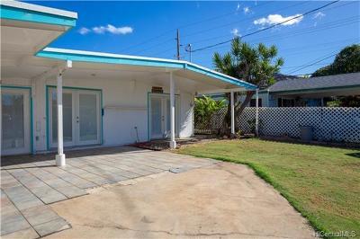 Waianae Single Family Home For Sale: 86-032 Ala Poko Street