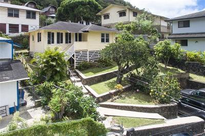 Honolulu Single Family Home For Sale: 2717 Nihi Street