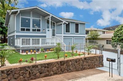 Waianae Single Family Home In Escrow Showing: 86-900 Hale Ekahi Drive