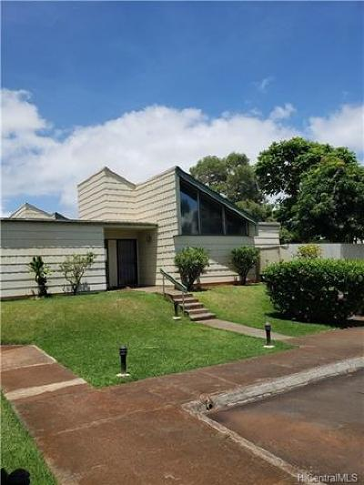 Mililani Condo/Townhouse In Escrow Showing: 94-273 Makapipipi Street #132