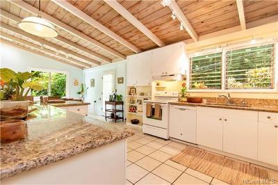 Honolulu Single Family Home In Escrow Showing: 3512 Kalihi Street