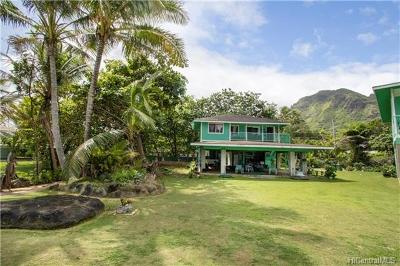 Hauula Single Family Home For Sale: 53-207 Kamehameha Highway