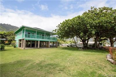 Hauula Single Family Home For Sale: 53-211 Kamehameha Highway