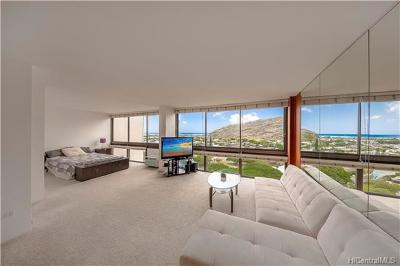 Honolulu County Condo/Townhouse In Escrow Showing: 521 Hahaione Street #2/13F