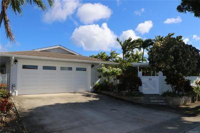 Honolulu HI Single Family Home For Sale: $1,295,000
