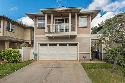 Ewa Beach Single Family Home For Sale: 91-1005 Kanela Street #T39