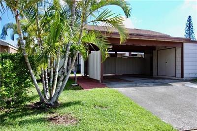 Mililani Single Family Home For Sale: 95-624 Hinalii Street