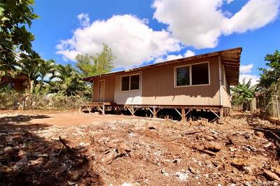 Ewa Beach Single Family Home For Sale: 91-353 Fort Weaver Road