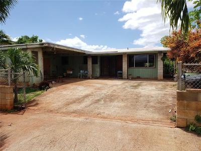 Waipahu Single Family Home For Sale: 94-414 Hoaeae Street