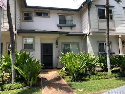 Ewa Beach Condo/Townhouse For Sale: 91-1092 Kaimalie Street #2L3
