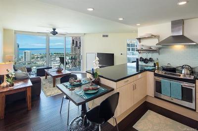 Hawaii County, Honolulu County Condo/Townhouse For Sale: 801 S King Street #3704