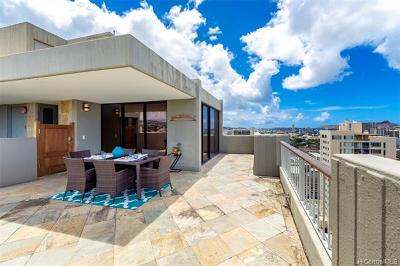 Condo/Townhouse For Sale: 1521 Punahou Street #PH