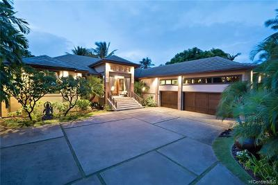 Hawaii County, Honolulu County Single Family Home For Sale: 4308 Kahala Avenue