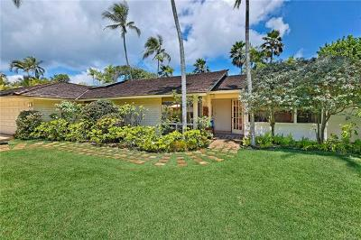 Kailua Single Family Home For Sale: 64 White Sands Place