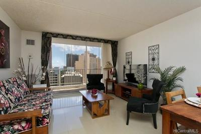 Honolulu Condo/Townhouse For Sale: 400 Hobron Lane #1709
