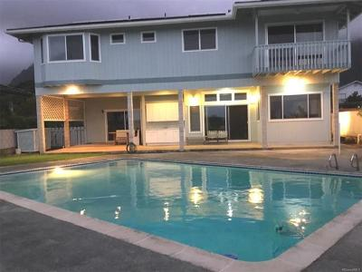 Kaneohe Single Family Home For Sale: 46-185 Kalali Place
