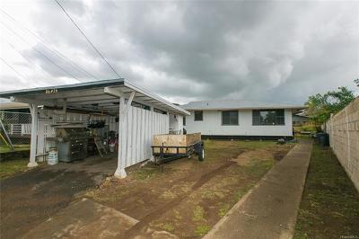 Waianae Single Family Home In Escrow Showing: 86-076 Hoaha Street