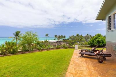 Kailua Single Family Home In Escrow Showing: 102 Aalapapa Way