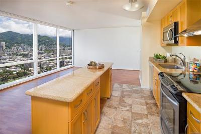 Honolulu Condo/Townhouse For Sale: 1296 Kapiolani Boulevard #3201