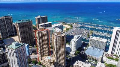 Honolulu County Condo/Townhouse In Escrow Showing: 1778 Ala Moana Boulevard #2613